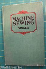 Machine Sewing Singer Vintage Book 1928