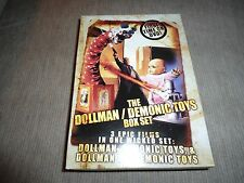 The Dollman / Demonic Toys Box Set (2005) [3 Disc] DVD