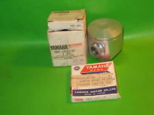 YAMAHA YZ125 H 1981 PISTON AND RING 1ST OVER NOS OEM