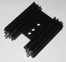 Short Fecom TO-218 / TO-220 Aluminum Heatsink for MOSFET , Transistors, etc.