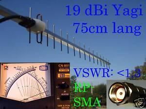 Antenne Richtantenne WLAN Yagi 19 dBi 2,4 GHz 1m RP-SMA