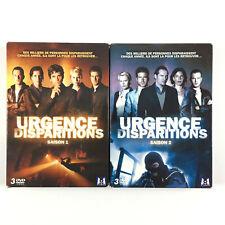 Urgences Disparitions Saison 1 et 2 L'intégrale De La Série / Coffret Lot DVD