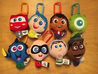 2020 McDONALD'S Disney Pixar Celebration 20th HAPPY MEAL TOYS  COMPLETE SET OF 8