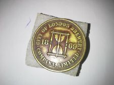 More details for token city of london brewery 1869 perfect condition e. f.