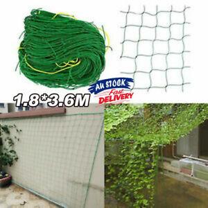 Garden Plant Climbing Net Vegetable Vine Trellis Support Fence Mesh 1.8*3.6m AU