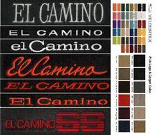Lloyd Mats Chevrolet El Camino Custom Embroidered Velourtex Floor Mats (1959-87)