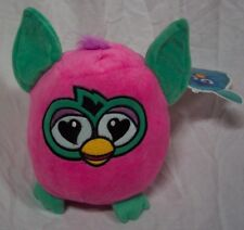 "Furby a Mind of it's Own HAPPY PINK FURBY 8"" Plush STUFFED ANIMAL Toy NEW"