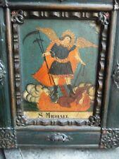 Icona dipinta a mano di San Michele Arcangelo.