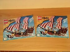 Lego Pirates  6243 Brickbeard's Bounty Pirate Ship - Instruction Manual Only