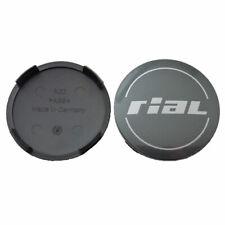 RIAL N32 64 mm Nabendeckel Nabenkappen Felgendeckel titan grau Milano NEU
