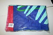 Nwt Vera Bradley Large Beach Towel - mini tody birds blue