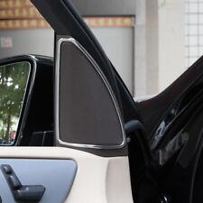 2pcs Door Speaker Cover Trim Sticker For Mercedes Benz ML W164 GL X164 2013-16