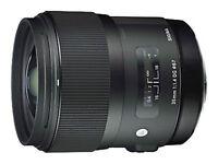Sigma 35mm F1.4 DG HSM 'A' Art Lens in Sigma Fit (UK Stock) BNIB