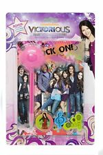 Nickelodeon Victorious Girls Diary w/ Marabou Pen + Bonus Stickers & Magnets NEW