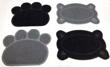new paw pet feeding mat dishbowl place mat pvc dogpuppy