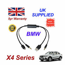 BMW X4 Series Audio Cable For Samsung Galaxy, HTC, Blackberry, LG, Nokia, Sony