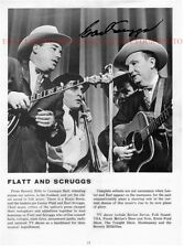 EARL SCRUGGS SIGNED AUTOGRAPHED 8x10 RP PHOTO BLUEGRASS COUNTRY