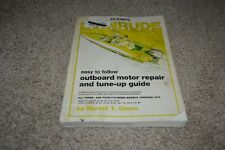 Evinrude Outboard motor repair & tune-up guide Glenn's 3 & 4 cylinder 55-135HP