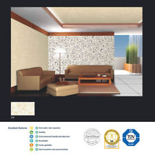 YELLOW-WHITE POLYMER-BASED LIQUID INTERIOR WALLPAPER SILK COATING PAINT