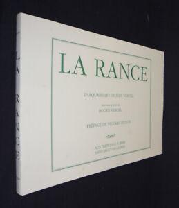La Rance (20 aquarelles de Jean Vercel illustrant le texte de Roger Vercel -