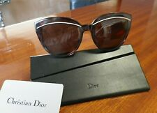 378f35cf0e DIOR Brown Havana Cat Eye Women Sunglasses Liner UGRK2