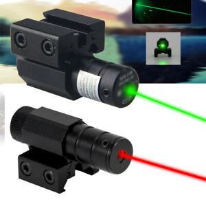 Rot Grün Dot Laser Sight Zielfernrohr für Hunting 11/20mm Picatinny Rail