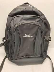Oakley backpack book pack medium size black polyester Free Shipping