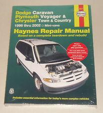 Reparaturanleitung Chrysler Voyager / Dodge Caravan / Plymouth, Bj. 1996 - 2002