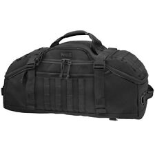 Maxpedition Doppelduffel Adventure Bag MOLLE Leger Pack Carryall Tas Zwart