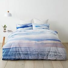 BEACH WAVES OCEAN SEA surf SINGLE bed QUILT DOONA COVER SET NEW