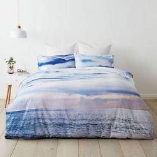 BEACH WAVES OCEAN SEA surf QUEEN bed QUILT DOONA COVER SET NEW