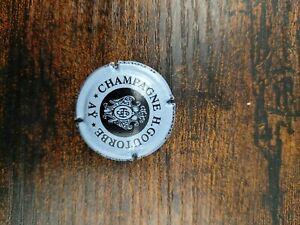 Capsule de champagne rare jeroboam goutorbe introuvable