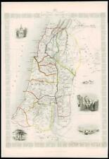 More details for 1850 illustrated original antique map