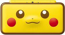 Nintendo New 2DS XL Pikachu Face Yellow Pokemon Edition NEW