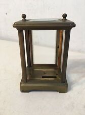 Antique French Carriage Clock Case Parts Small Brass Display Case