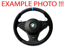 BMW 5 Series E60 M5 E63 M6 NEW Leather M Sport Steering Wheel SMG Paddle Shift