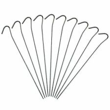 """Summit Camping Awning Tent Steel Pegs 7"""" Pack Of 10"""