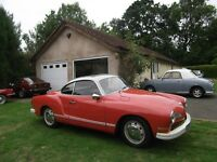 1972 Volkswagen Karmann Ghia, RHD 33317 Miles From New, Service History 3 Owners