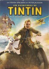 """DVD """"LES AVENTURES DE TINTIN ET LE SECRET DE LA LICORNE"""" neuf sous blister"""