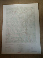 Large 28x22 1962 Topo Map Saint Pauls, North Carolina Cape Fear River