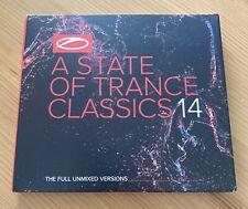 A State Of Trance Classics 14 Armin Van Buuren 4 CD Box NEU