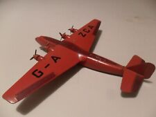 Dinky toys aeroplane #62x British 40 seater airliner aircraft, rare