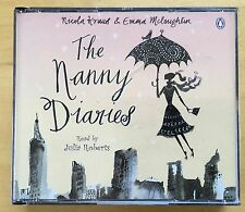 Audio Book THE NANNY DIARIES by Nicola Kraus on 4 x CDs read by JULIA ROBERTS