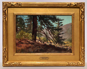 California Albert Clinton Conner Landscape San Gabriel Canyon Impressionist Pain