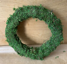 "1 X 10"" Padded Moss Effect Wreath Rings Christmas Making Bases Frames Florist"