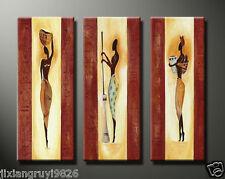 (no Framed)MODERN ABSTRACT CANVAS ART WALL DECOR OIL PAINTING-African Art