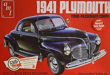 Plymouth coupe 1941'41 stock ou personnalisée 1:25 amt 919 kit plastique