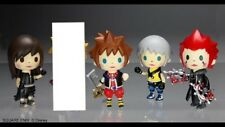 Kingdom Hearts Avatar Trading Arts Mini .4 Figures, Sora, Axel, Riku, Tifa