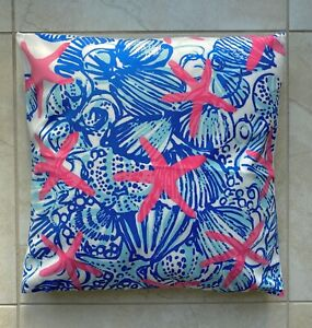 Lilly Pulitzer HANDMADE outdoor and indoor pillows cases. Size 17.5 Inch