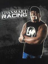 Legendary Wrestler HULK MEANS BUSINESS LOANMART RACING GLEN HELEN 2014 T-shirt L